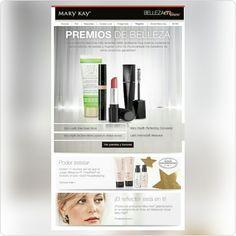 Productos nuevos de Mary Kay reciben premios y honores. Conocelos en nuestro Boletín Belleza en Línea. #MyMKLife http://fw.to/mfyq00b