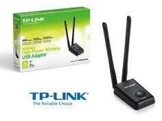 Adaptador de red USB wireless N TP-Link TL-WN8200ND de 300Mbps
