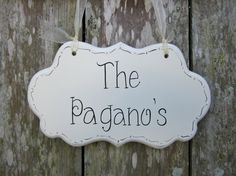 Wedding Sign Hand Painted Wooden Shabby Chic Sign by kimgilbert3, $24.00