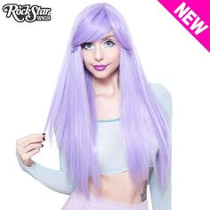 Gothic Lolita Wigs� <br> Bella� Collection - Lavender Mix -00681