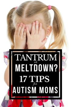 17 tips for parenting children with autism spectrum disorder. Whether you're the parent of a child with high functioning autism, or your child has more significant challenges with things like behavior management, autistic meltdowns, and sensory processing disorder this article will teach you how to tell the difference between a sensory meltdown and a tantrum, and what you can do to help your child and understand his behavior!