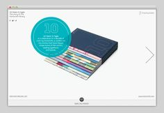 """Fontsmith, """"10 Years In Type"""" // Web Design"""