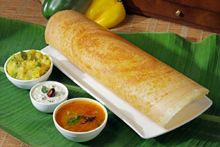 A Masala dosa is South Indian, fermented crepe made from rice thrash and black lentils. Masala Dosa is typically served with sambar and tomato chutney. Garam Masala, Masala Dosa Recipe, Indian Snacks, Indian Food Recipes, Vegetarian Recipes, Cooking Recipes, Gujarati Recipes, Veg Recipes, Kitchen Recipes