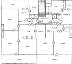 Milady Horákové, Bubeneč - Praha 7   Prodej, Byt 3 + 1, 124m2 Floor Plans, Floor Plan Drawing, House Floor Plans