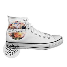 Jack Johnson Magcon Boys White shoes New Hot Shoes | Vista Customs