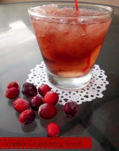 Vodka Cranberry Slush pinkrecipebox.com