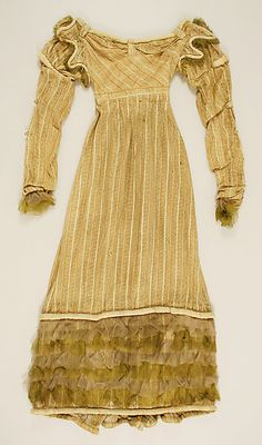Dress ~ 1817 ~ Italian ~ silk ~ Metropolitan Museum of Art