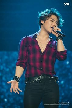 Daesung - BigBang || His voice, and I love his mop of hair he has going, by far my favorite look of his ever... the MADE era was epic :)