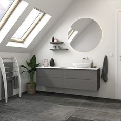 Large Bathrooms, Small Bathroom, New Bathroom Designs, Types Of Rooms, Mirror Cabinets, Modular Furniture, Bathroom Furniture, Bathroom Inspiration, Storage Spaces