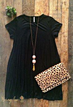 Carolina Dress - Black - Bungalow 123 - 1