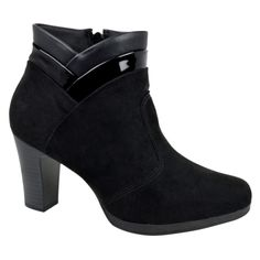 Ankle Boot Camurça Piccadilly - Preto
