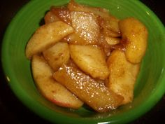 The Gourmet Country Girl: Southern Fried Apples