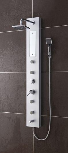 4 White Sparkle Diamond Effect PVC Bathroom Cladding Shower Wall ...