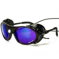 Shop for Daisan Black Glacier Goggles Mountaineering Glasses With Category 4 Lenses. Starting from Compare live & historic sporting good prices. Oakley Sunglasses, Sport, Eyewear, Mens Fashion, Climbing, Fashion Ideas, Shopping, Black, Shades