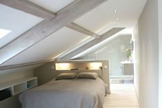 The project: develop attic in parental suite. The project: develop attic in parental suite. Attic Bedroom Designs, Attic Bedrooms, Basement Bedrooms, Bedroom Ideas, Attic Loft, Loft Room, Bedroom Loft, Attic Renovation, Attic Remodel