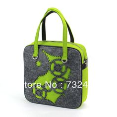 Aliexpress.com : Buy 2087 fashion felt gear series handbag new design women/men's quadrate gear series luggage from Reliable fashion handbag suppliers on  2087 felt bag $70.00