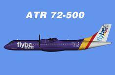 Flybe ATR 72-500 Opb Stobart Air FS9