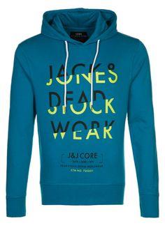 Jack & Jones - Sweat à capuche - bleu