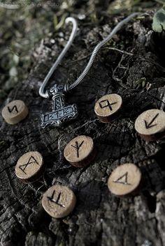 Runes and Mjollnir