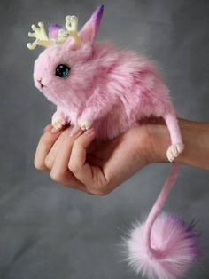 Magic Jerboa – Jewerly World Cute Fantasy Creatures, Cute Creatures, Magical Creatures, Mystical Animals, Cute Toys, Cute Baby Animals, Art Dolls, Fantasy Art, Plushies