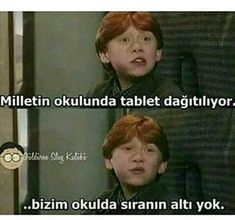 Bizim okul sdsffgbvkn - #bizim #okul #sdsffgbvkn Harry Potter Anime, Harry Potter Cast, Harry Potter World, Harry Potter Memes, Funy Memes, Ridiculous Pictures, Comedy Pictures, Pictures To Draw, Girl Humor