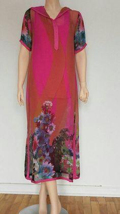 Motif Abaya, African Maxi Dresses, Moroccan Dress, Chiffon, Short Sleeve Dresses, Boutique Etsy, Kaftans, Womens Fashion, Pattern