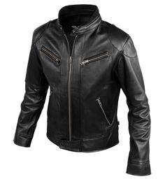 accro Motorbike Leathers, Motorcycle Jacket, Leather Fashion, Mens Fashion, Classic Leather Jacket, Slim Fit Jackets, Jacket Style, Jacket Men, Slim Man