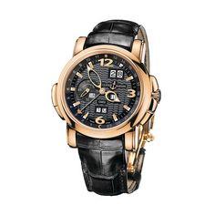 Ulysse Nardin GMT +/- Perpetual Calendar Automatic // 326-60/62 // Brand New
