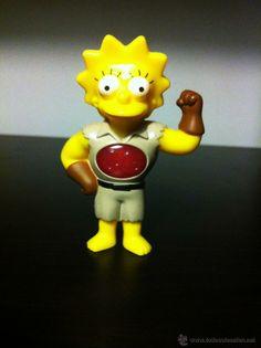 Figura de Lisa Simpson - Burger King - con luz (Juguetes - Figuras de Goma y Pvc - Otras)