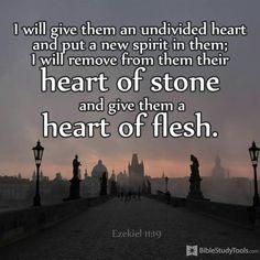 Ezekiel 11:19