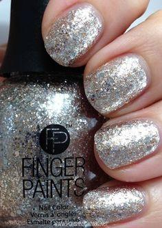 FingerPaints Gilded Chrome glitter polish