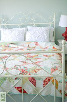 Simply Retro with Camille Roskelley Love it! Camille is so artistic; she has amazing fabric and patterns.