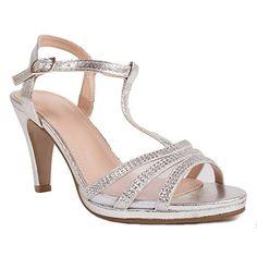 Escarpins Mariage à Strass Bout Ouvert Petit Talon 6 cm-41. Chaussures Femme 6da6c5fd9f93