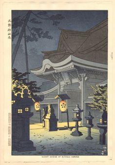 Takeji Asano Japanese Woodblock Print | eBay