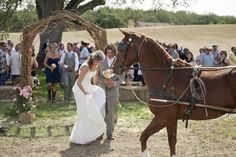 Boho Chic California Ranch Wedding Wedding Real Weddings Photos on WeddingWire Heartsfoto.com
