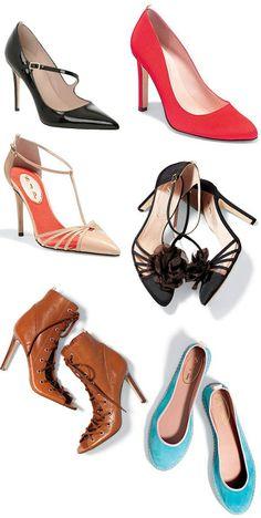 Coleção de sapatos Sarah Jessica Parker.