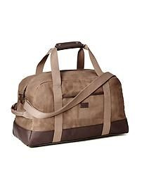17618aac6513 Canvas Duffel Bag for Men Summer Suits