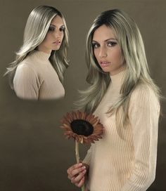 The guttural flower Yvonne Todd Meat Liquor, Contemporary Art, Feminine, Long Hair Styles, Gallery, Flower, Photography, Beauty, Models