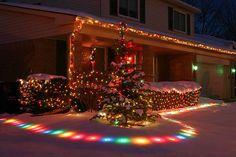 46 Magical Christmas Lighting Ideas to Bring Joy & Light on Your Holidays