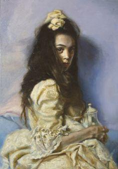 "Teresa Oaxaca, ""Teapot"" - 30x21, oil on canvas --at Principle Gallery"