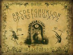 "mirroir: "" The J.J. Grandville Collage Spirit Board by Bajema """