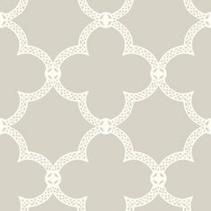 York Wallcoverings Pattern Play x Serendipity Wallpaper Roll Color: Aqua / White