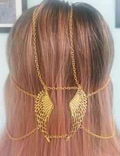 angel wing head jewelry  $28  https://www.etsy.com/listing/105976823/angel-wings-head-jewelry