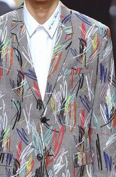 patternprints journal: PRINTS, PATTERNS AND DETAILS FROM RECENT PARIS FASHION WEEK (MENSWEAR SPRING/SUMMER 2015) / Dior Homme