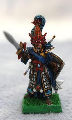 #warhammer #GamesWorkshop #highelves #miniaturepainting #Lothern #LothernSeaGuards #Dimacheri #Sagidima