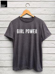 Girl Power shirt - feminist tshirt, feminist shirts, feminist t-shirt, feminist merch, feminism quotes, this is what a feminist looks like by FamousBasics on Etsy https://www.etsy.com/listing/267680595/girl-power-shirt-feminist-tshirt