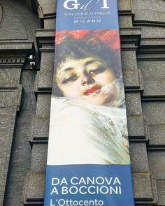 #milan #milano #ig_milan #ig_milano #igersmilano #milanodavedere #milanodaclick #piazzadellascala #gallerieditalia #artexhibition #mostradarte #art #arte #painting #pittura #sculpture #scultura #march #marzo #2016 #firstsunday #primadomenicadelmese #domenicalmuseo #museitaliani #mibact #love #antoniocanova #umbertoboccioni #ottocento by robipost