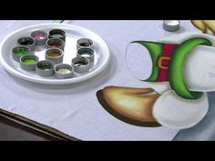 Mulher.com 04/10/2013 Luciano Menezes - Pintura boneco de neve Parte 1/2 - YouTube