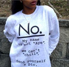 NO. Sweatshirt White – shopderrickjaxn