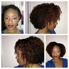 Flat twist out using Eden Body Works products